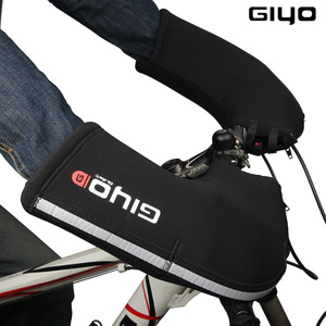 Image 4 - GIYO kış termal dağ yol bisiklet bisiklet bisiklet Bar eldiveni eldivenler eldiven SBR neopren gidon kapak isıtıcı