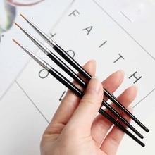 Brush - Eyeliner brush - Thin Cosmetics for Gel or Powder Eye Line Professional