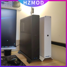 HZMOD плоский XQ69 V4.1 NON-A4 мини ITX чехол Корпус Htpc независимых Дисплей/SFX-L питания