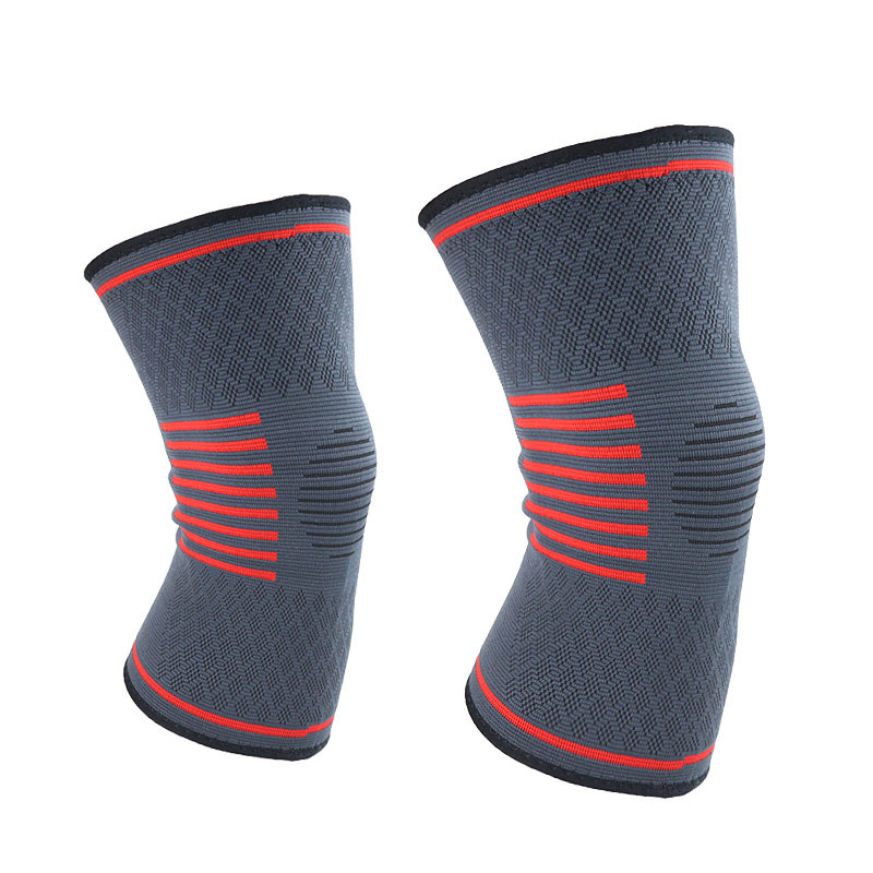 Autumn And Winter Outdoor Fitness Running Men And Women Sports Basketball Shuttlecock Leg Squat Knee Protective Clothing Warm Kn