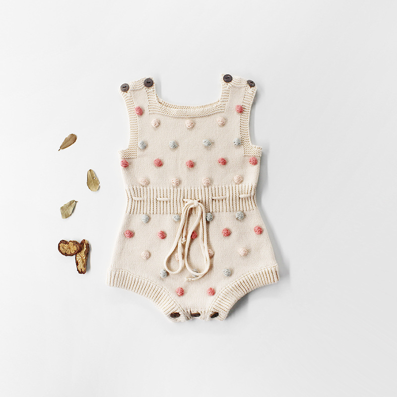 Baby Knitted Clothes Autumn Knit Baby Rompers Girl Baby Girl Romper Boys Overall Newnborn Infant Baby Clothes