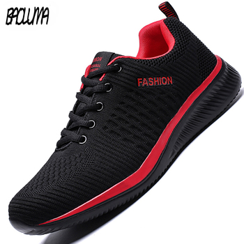 Hot Sale Summer Men's Casual Shoes Mesh Breathable Light Men Sneakers Comfortable Soft Mens Shoes Outdoor Mens Shoes Plus Size