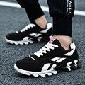 Мужская спортивная обувь  дышащая обувь с клинком  Мужская обувь для взрослых  студенческие кроссовки  модные дизайнерские удобные кроссов...
