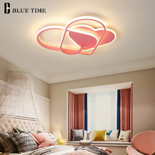 цена на Led Modern Ceiling Lights For Bedroom Living Room Dining Room Children Lights Indoor Girl Room Lighting LED Ceiling Lamps 32w