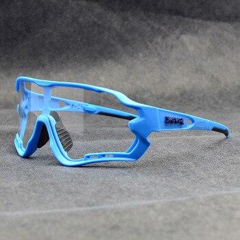 Photochromic ciclismo óculos de sol homem & mulher esporte ao ar livre óculos de bicicleta óculos de sol óculos de sol gafas ciclismo 1 lente 36