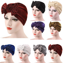 Women Bowknot Muslim Ruffle Cancer Chemo Hat Beanie Scarf Turban Head Wrap Cap L0802 трансформатор lundahl ll1668