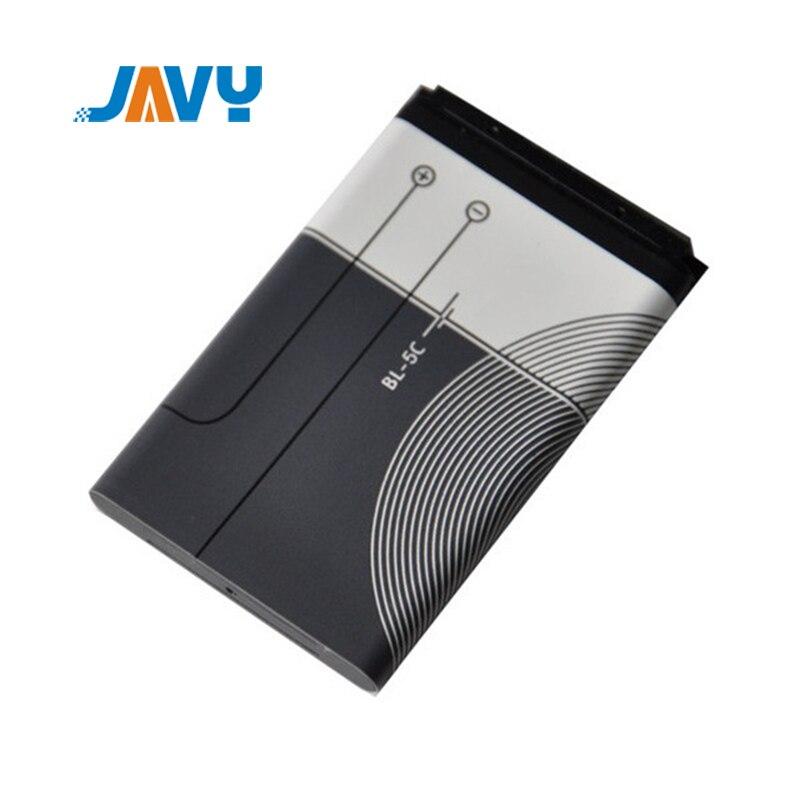 1020mAh BL-5C Li-ion Battery For Nokia 1010 1108 1110 1112 1116 E50 E60 N70 N71 6680 2020 BL5C BL 5C Original 3.7V Batteries