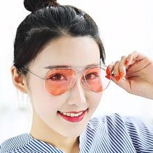 New Style Jelly Color Sun Glasses Fashion Aviator Sunglasses