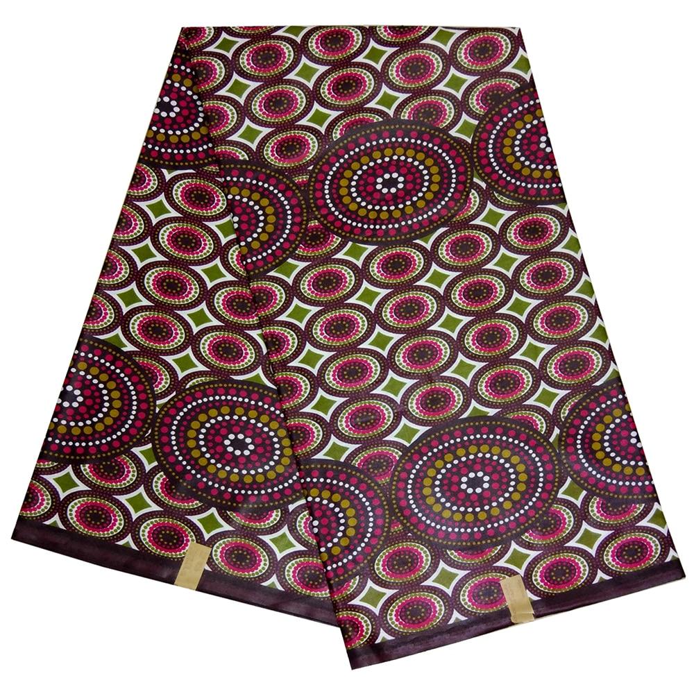 Ankara African Wax Print Fabric Nigeria Veritable Dutch Wax African Fabric 6Yards\set For Party Dress