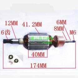 Armadura de Rotor de AC220-240V 513563-2 para Motor MAKITA HM0860C