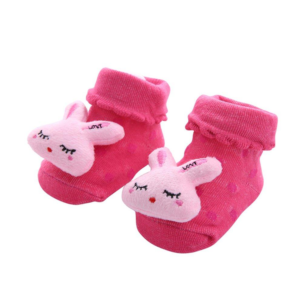 Baby Cartoon Socks Toddler Animal No
