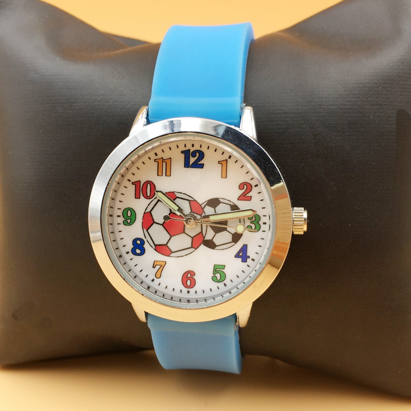 Hot Fashion Watch For Kids Children Boys Analog Quartz Watches Jelly Silicone Cute Girls Student Wristwatch Waterproof Clock