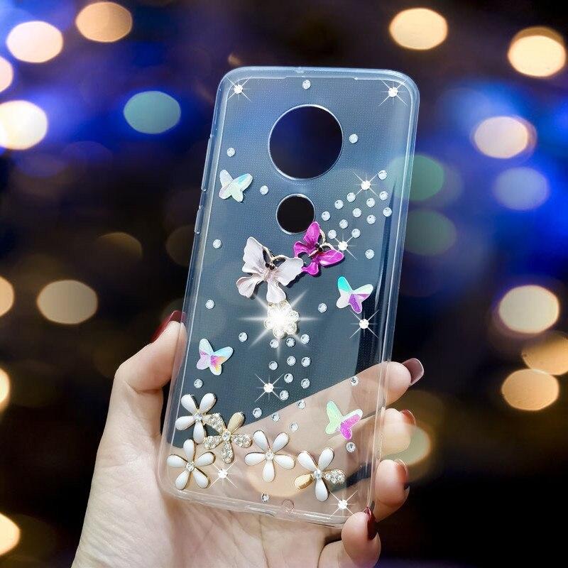 Diomand Phone Case For Moto E4 E5 Play Go E6 G5 G5s Plus G6 G7 Power Protective Back Cover Coque For Motorola One Vision Action