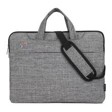 Buy 13.3/14.1/15.6 inch Large Capacity Laptop Handbag Waterproof Travel Briefcase Business Zipper Laptop Bag Potable Laptops Case directly from merchant!