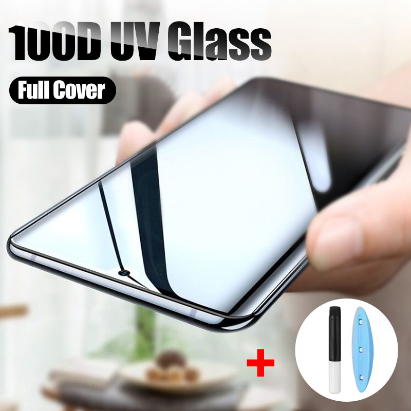 100D UV Tempered Glass For Huawei P30 Pro Screen Protector For Huawei Mate 20 Pro Glass P20 Pro Lite Mate 20 30 Protector Glass