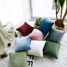 Modern Nordic Design Pillow Cover Soild Color Sofa Cushion Cover Pillowcase home Decoration Pillow cover Cushion Cover For Home low price modern nordic fabric home lobby wooden sofa set design for space saving apartment japan style