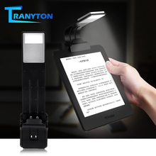 Portable LED Book Light Reading Light Flexible Clip USB Rechargeable Lamp For eBook Adjustable PC Material Bendable Night Lights