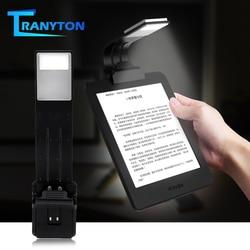 Draagbare Led Boek Licht Leeslamp Flexibele Clip Usb Oplaadbare Lamp Voor Ebook Verstelbare Pc Materiaal Buigbare Night Lights