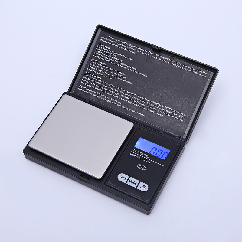 Mini Digital Scale Laboratory Balance Precision Kitchen Weight Portable Medical Jewelry Tea Electronic Scale Grams