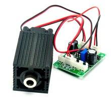 High Power Focusable 808nm 500mW Infrared IR Laser Diode Module Focus Dot Driver TTL Long-time Work