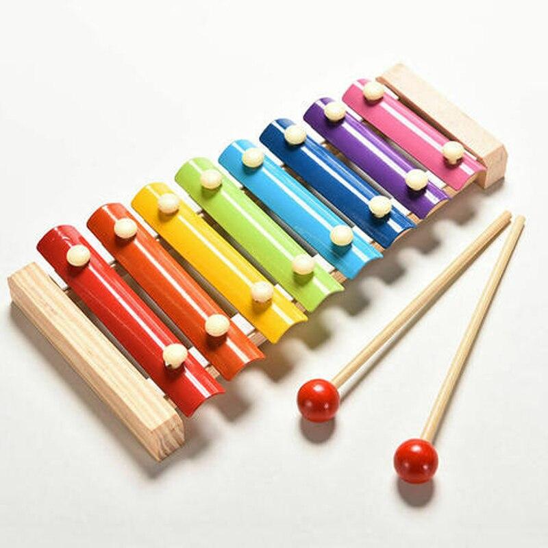 Новое поступление для детей, мудрость музыкальные игрушки Детское пианино Ксилофоны развития Деревянный инструмент Горячая Распродажа