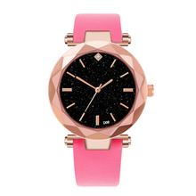 D08-C Ladies Soft PU Leather Watch Fashion Women Watches Wristwatch Clock For Women Ladies Female Gifts(China)