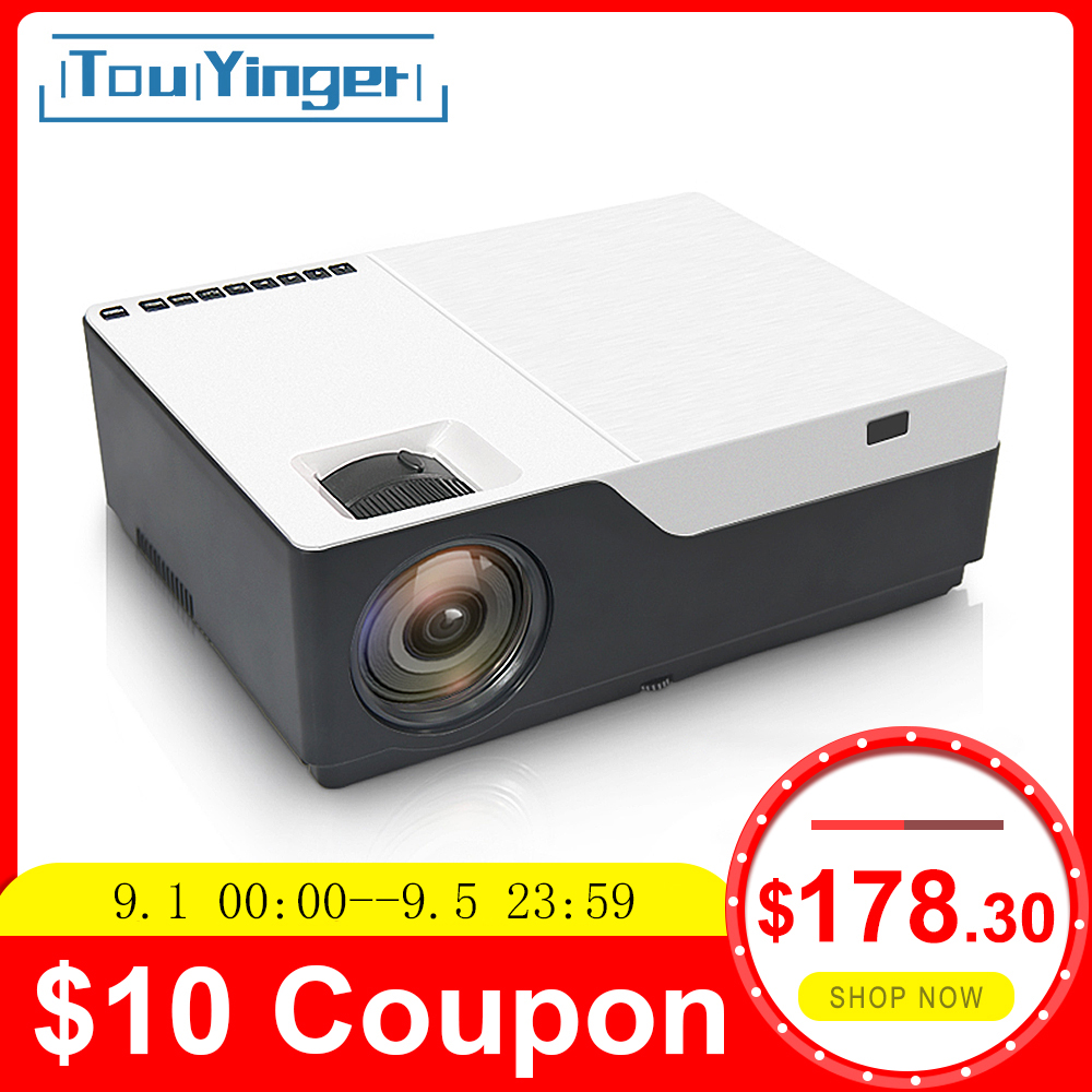 Touyinger Home Theater Video-Projector Beamer 5500lumen Movie Android AC3 1080p Resolution