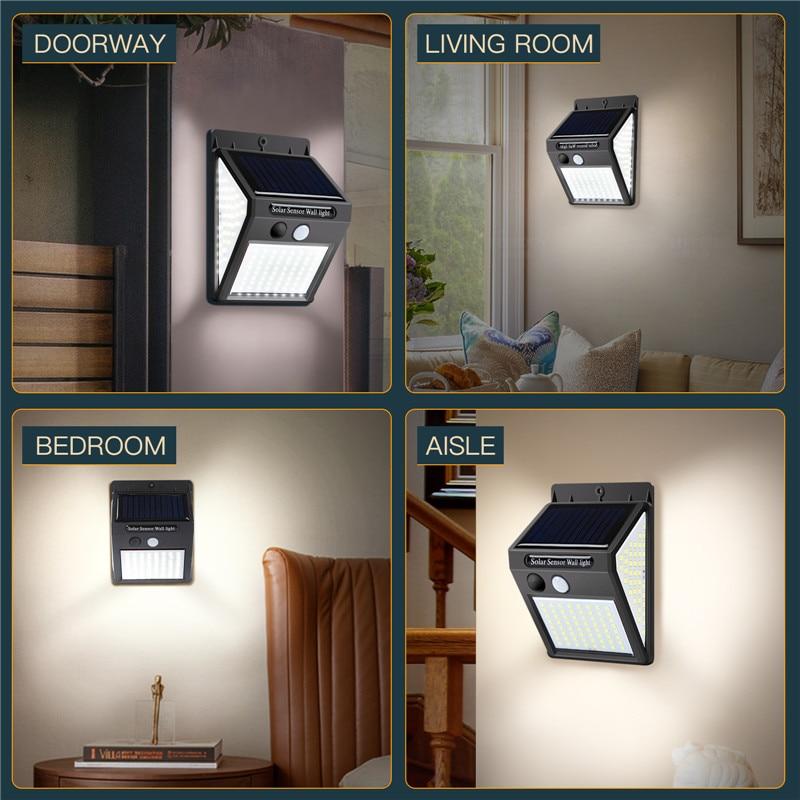 sensor de iluminação ao ar livre lâmpada