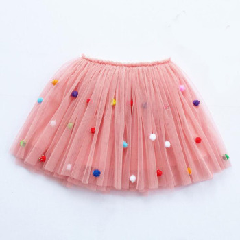 girls skirts princess lovely tutu skirts for 1-12Years kids spring summer clothes 21 color short girls lace skirt dance clothes 1