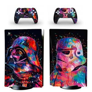 Image 4 - Wart Style PS5 Disc Edition Skin Sticker for Playstation 5 Console & 2 Controllers Decal Vinyl Protective Skins Style 4