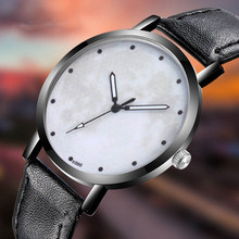 World Map Shadow Men Watch Classy Unique Creative Space Watch Casual Quartz Leather Strap Analog Wirst Watches Montre Femme