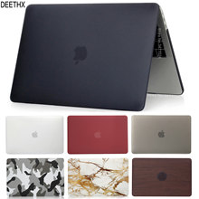 Hot Laptop Case For Macbook Pro Retina Air 11 12 13 15,2019 for mac Air 13 A1466 A1932,New pro 13.3 15.4 A1707 A1708 shell cover(China)