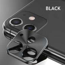 Металлический чехол для объектива камеры заднего вида для iphone 11 Pro, защитный круглый чехол для камеры, чехол для iphone 11 Pro MAX Ring Bumper, защита