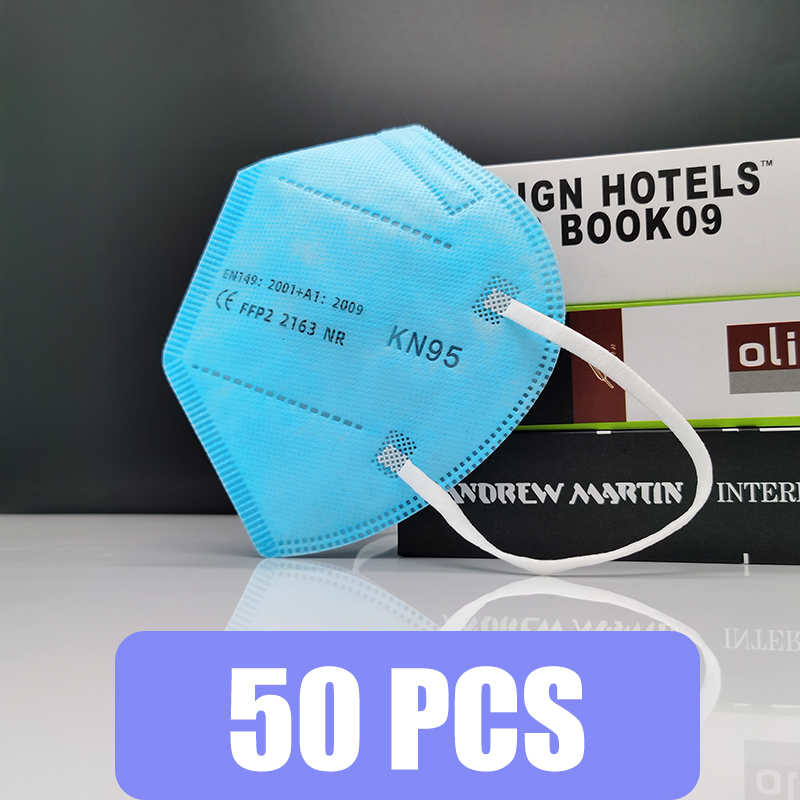 Blue 50 PCS