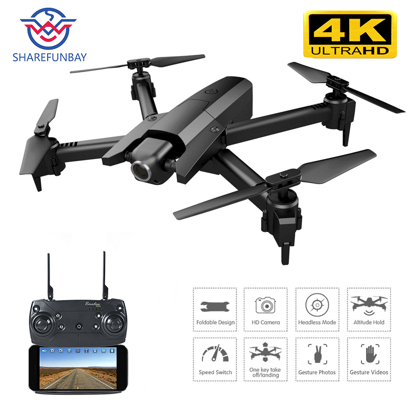 Drone 4k HD 1080p WiFi video real time FPV drone optical flow to maintain height Quadcopter VS E58 E520S GD89 drone camera image