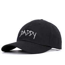 Hot Sale  Go Mom And Dad 2019 Korean Harajuku Simple Hip Hop Hat Male Sweet Embroidered Daddy Baseball Female