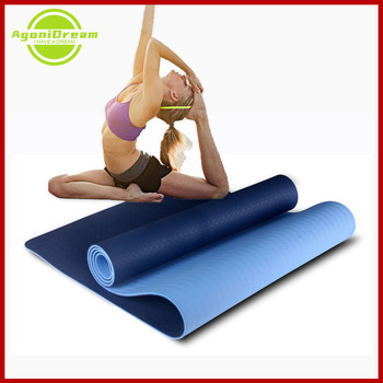 6mm Yoga Mat with Free Carry Rope 183*61cm Non-slip Thick Pad Fitness Pilates Mat for Double Layer Women Yoga Mat Accessories недорого