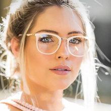 Wacksaria Для женщин классические прозрачные очки оправа супер