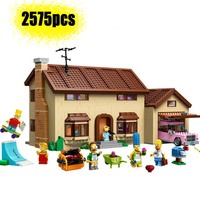 2019 NEW 83005 Simpsons House Building Block Model Bricks For 2575Pcs Child Toy Gift Compatible legoinglys 71016 brithday Gift