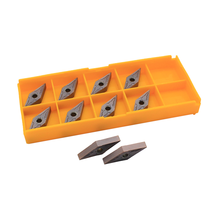 10PCS VNMG160404 MA VP15TF Carbide Insert Precision External Metal Turning Tool Lathe Tool CNC Machine Parts Turning Blade