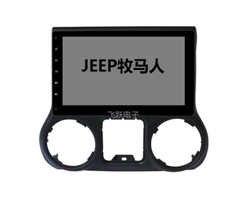 "10.1"" octa core 2.5D IPS screen Android 10 Car GPS radio Navigation for Jeep Wrangler 2008-2017 with 4G/Wifi DVR OBD"
