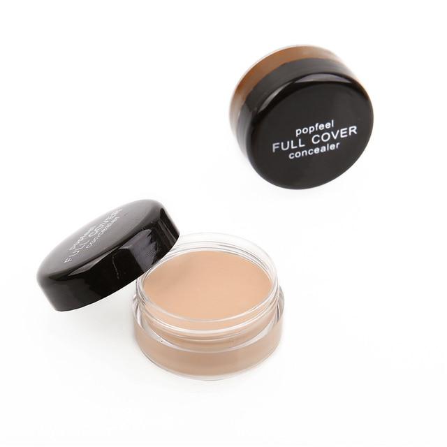 Liquid Face Foundation Base Concealer Cream Face Cover Blemish Hide Dark Spot Blemish Eye Lip Contour Makeup Cosmetic TSLM1 4