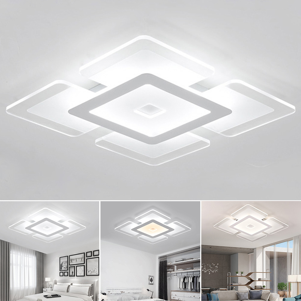 Phone Modern Super Bright Stepless Dimming Home Practical Living Room Voice Smart Acrylic Bedroom Led Ceiling Light