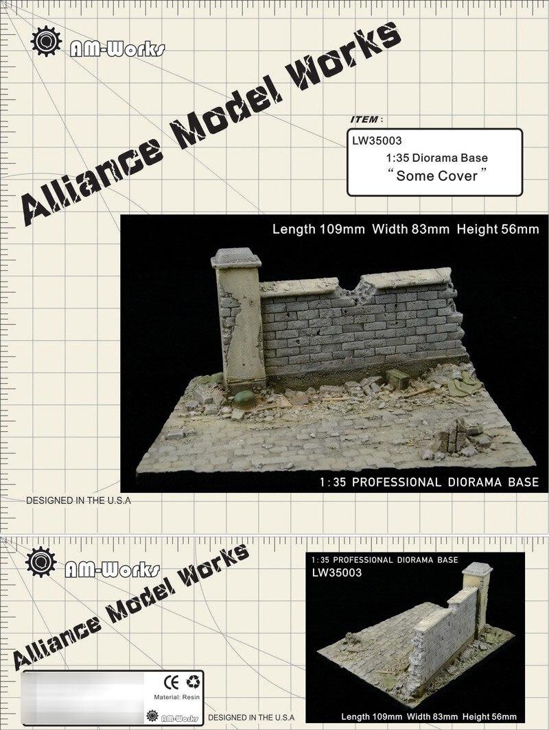 1/35 Resin Model Small Resin Diorama Base