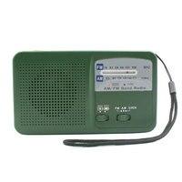 밝은 태양 강화한 옥외 AM FM 경보 튼튼한 다기능 라디오 손 크랭크 야영 LED 플래쉬 등 휴대용 비상 사태
