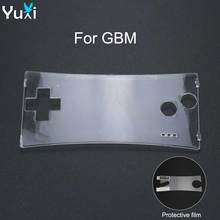 Case Faceplate-Cover Front-Shell Gameboy Micro Screen-Protector-Film Clear Transparent