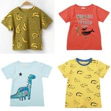 Kids Baby Boys Girls Cartoon T-shirt Clothing 2-8Y