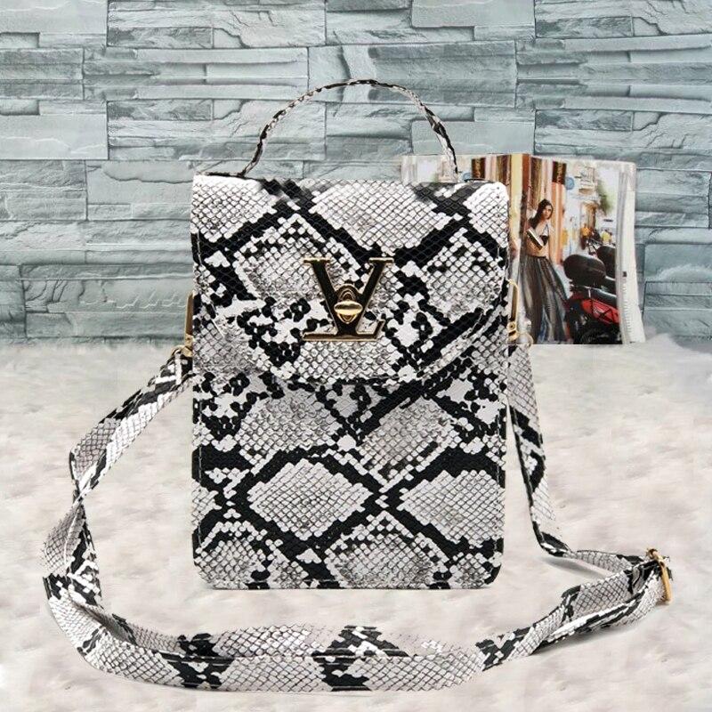 Luxury Brand Handbags Fashion Crocodile Women's bag Snake skin Women Small Tote Clutch Ladies Purse Mini Shoulder Crossbody Bags