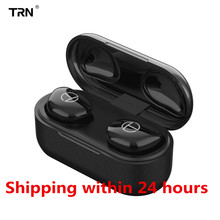 TRN T200 Bluetooth 5.0 True Wireless Bluetooth Headset ipx5 Mini HIFI Earbuds Sports In Ear Earphone O5 X1E X1 O2 E12 MTW100 I8