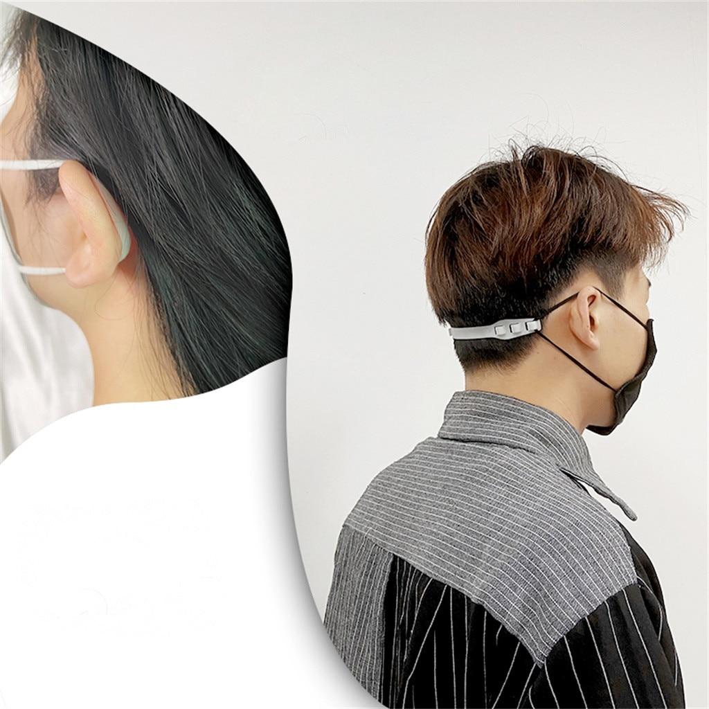 1 -10PCS Third Gear Adjustable Anti-Slip Mask Ear Grips Extension Hook Three Gears Adjustable Mask Hook